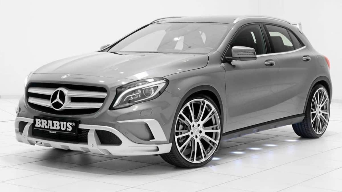 Brabus Tunes Mercedes-Benz GLA
