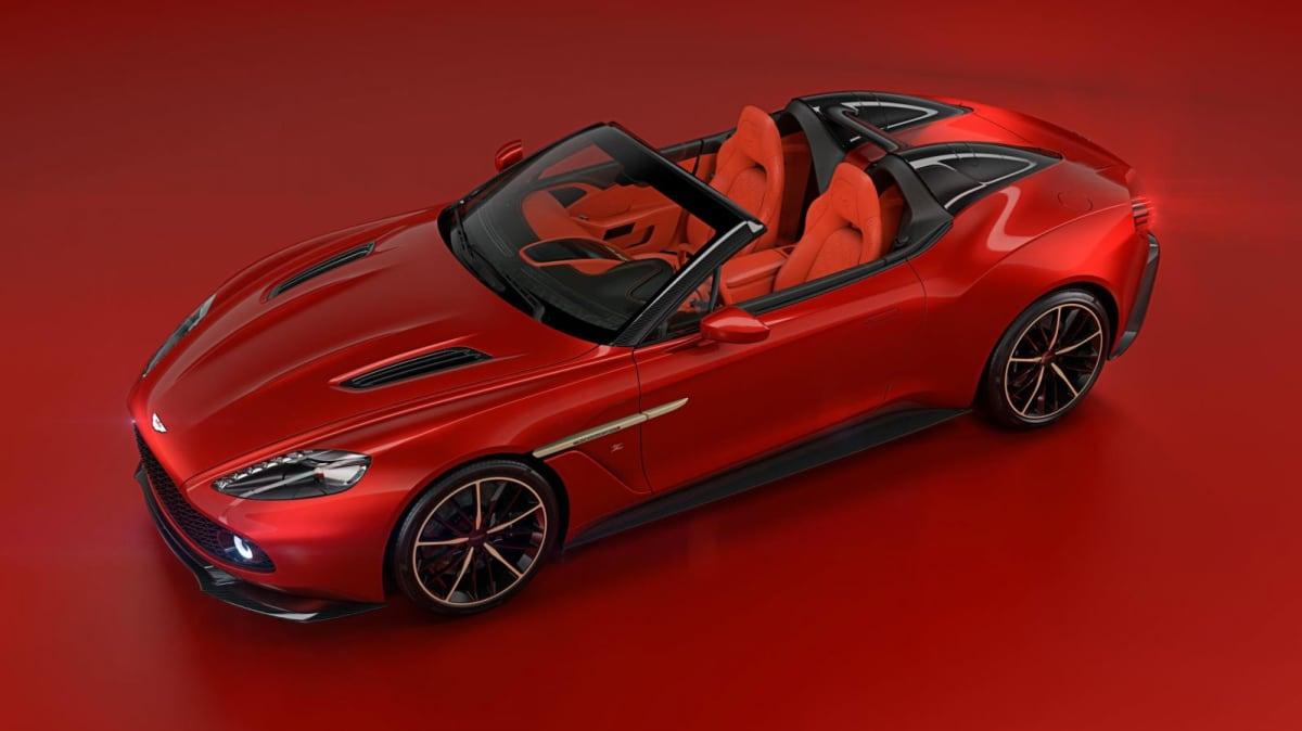 Aston Martin Unveils Zagato-Designed Vanquish Speedster And Shooting Brake