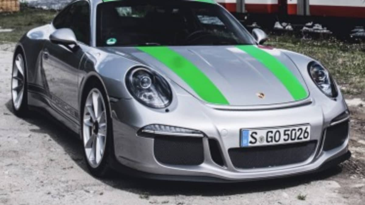 Porsche 911 R feature in Germany.