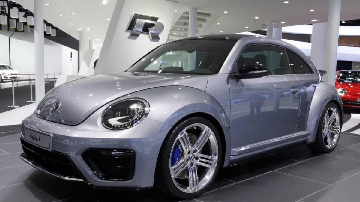 Volkswagen Beetle R Concept Previews Potential Range-Topper
