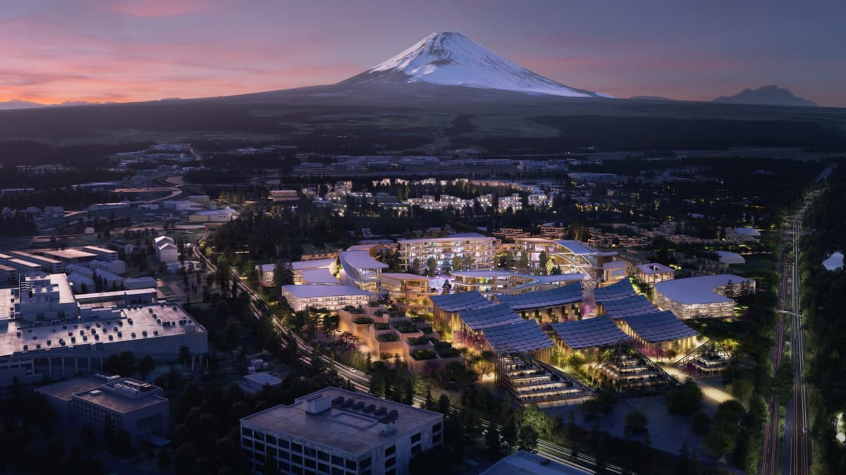 Toyota announces plans for 'city of the future'
