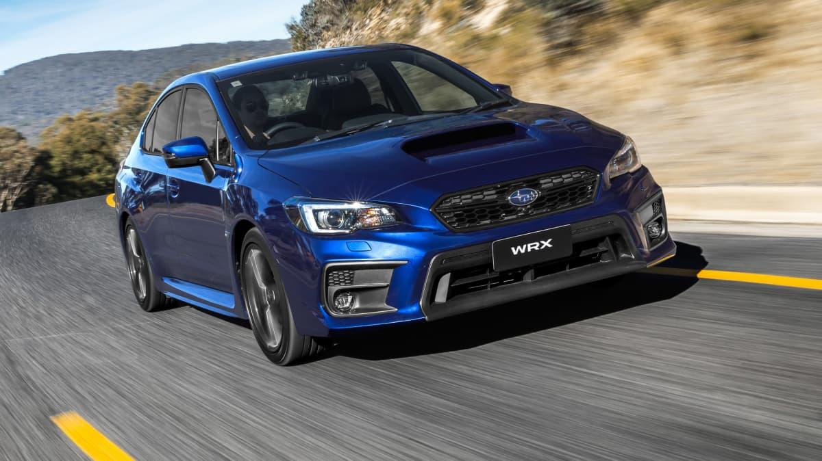 Above: 2018 Subaru WRX 'Gen 4'.