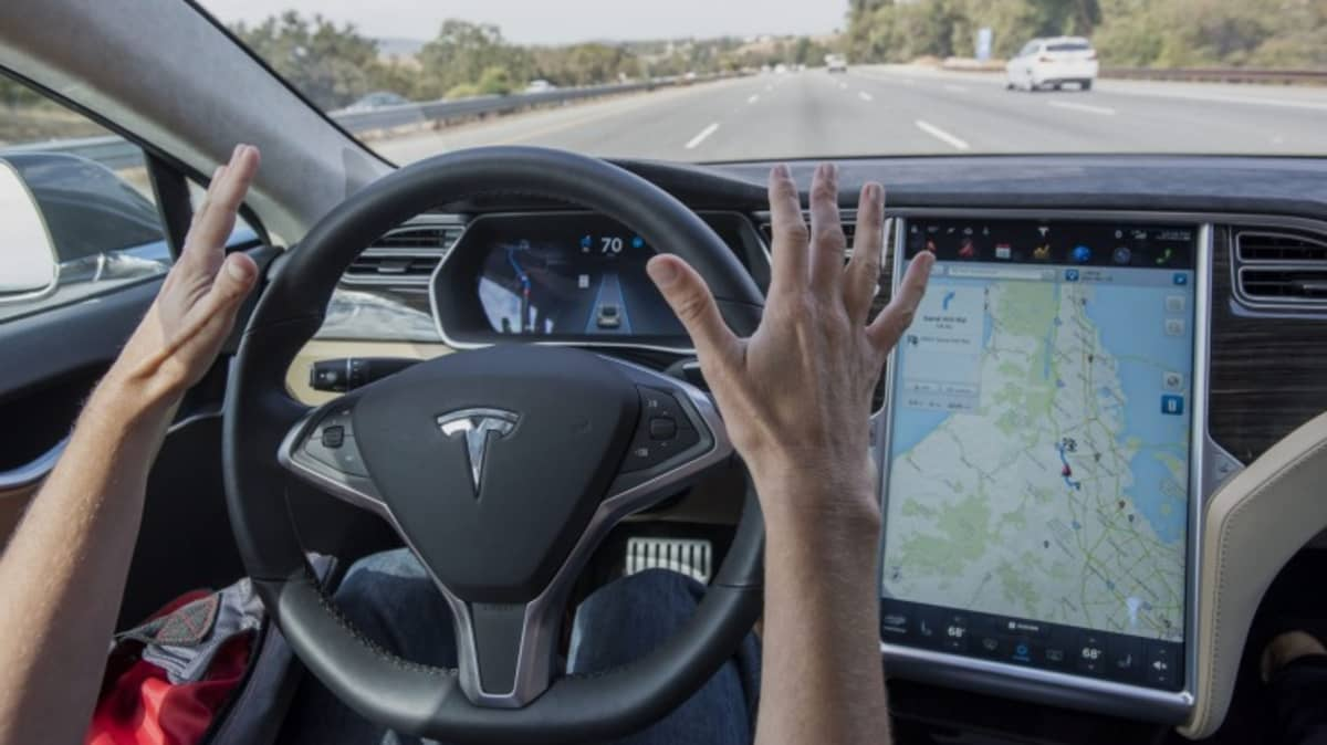 Tesla has placed limits on how long drivers can go without using a car's steering wheel.