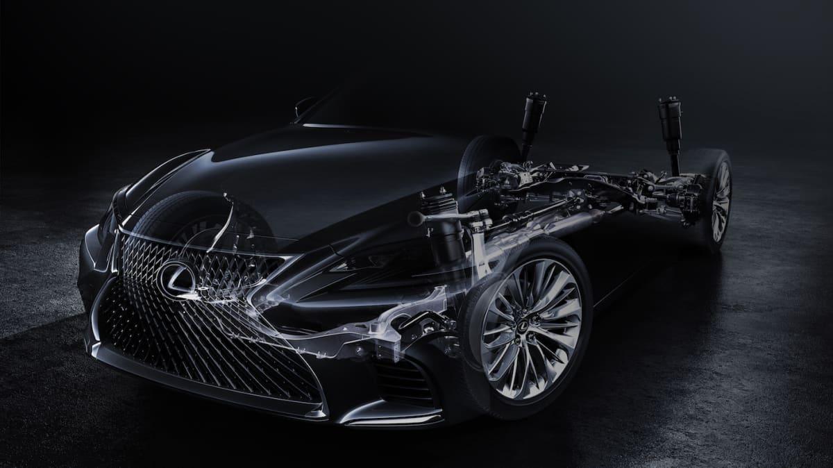 Lexus Offers First Tease OF 2018 LS Sedan