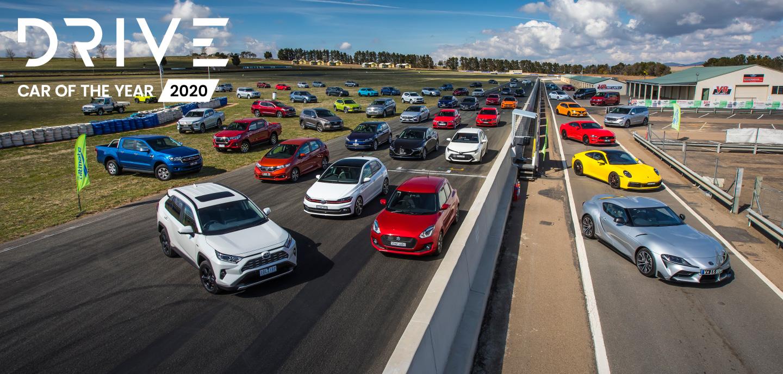 Drive Car of the Year 2020 desktop hero image