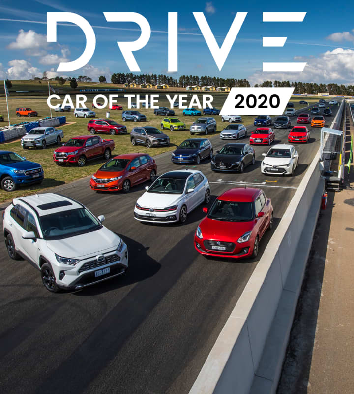 Drive Car of the Year 2020 mobile hero image