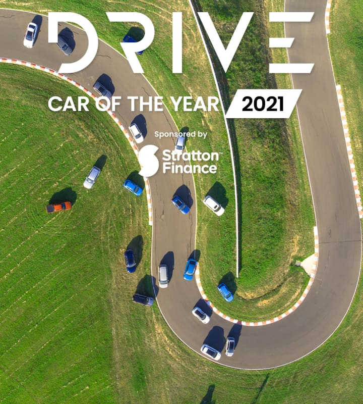 Drive Car of the Year aerial photo mobile