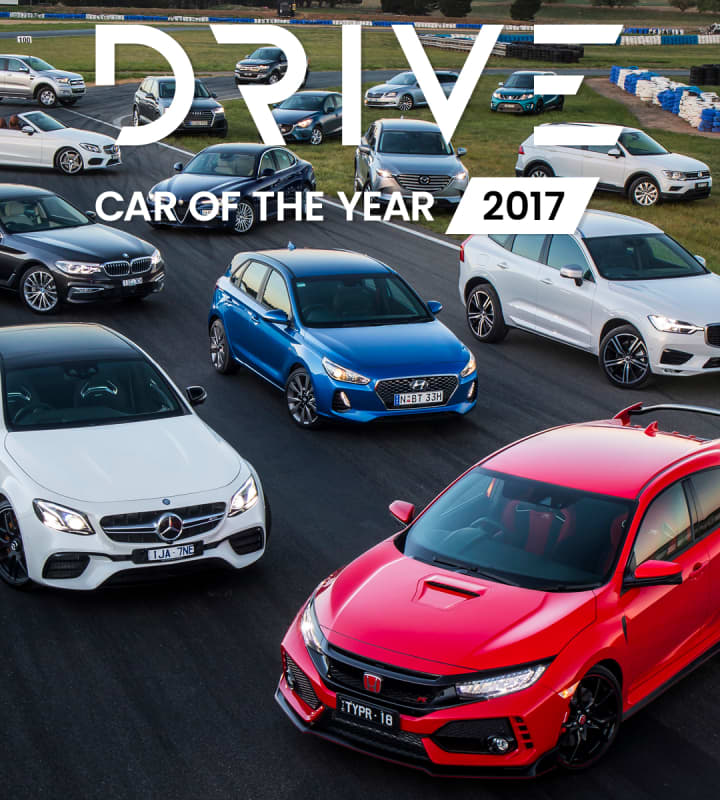 Drive Car of the Year 2017 mobile hero image
