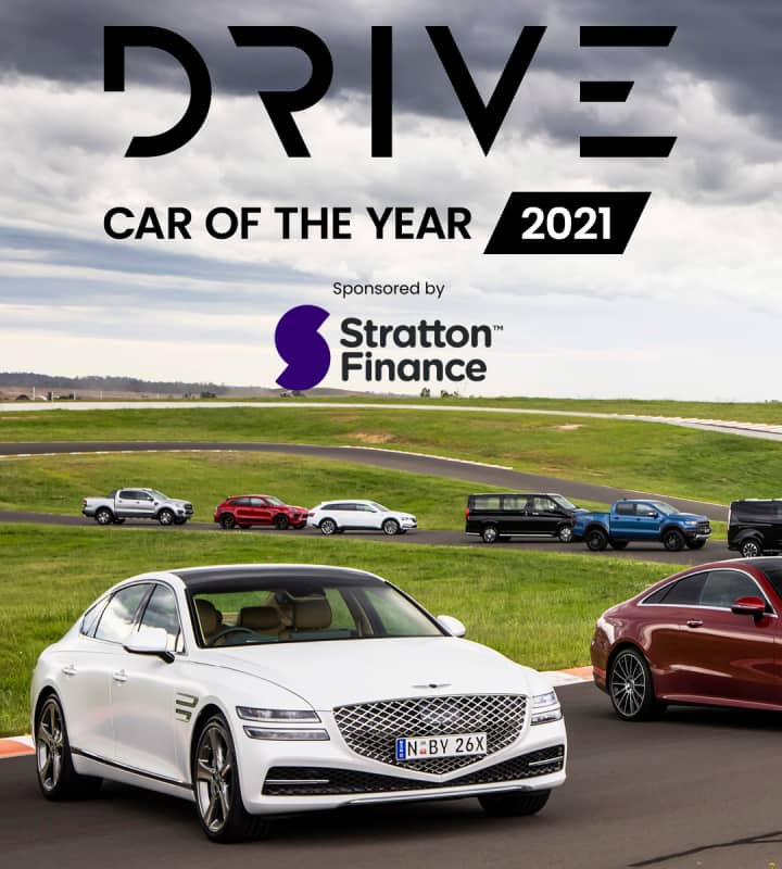 Drive Car of the Year 2021 mobile hero image