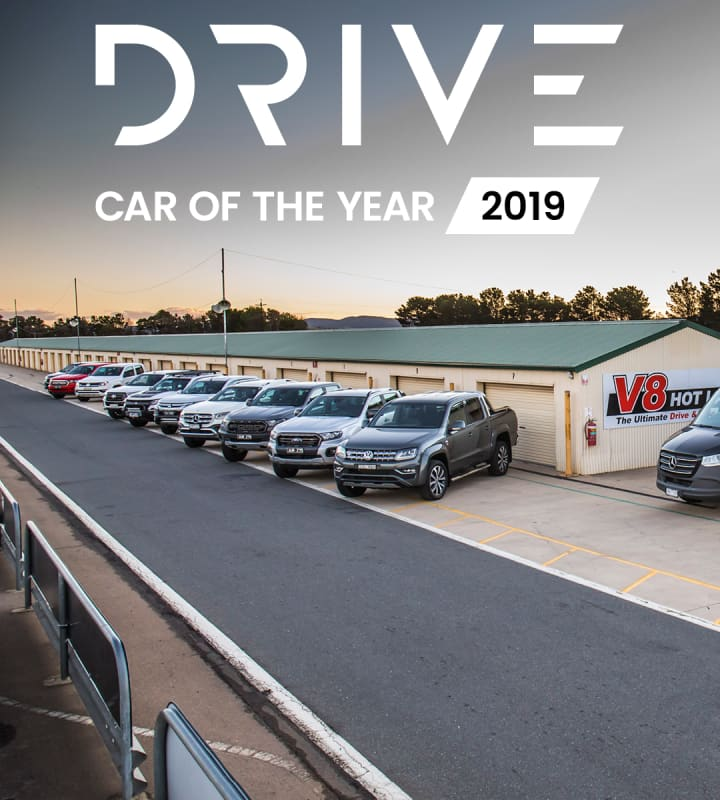 Drive Car of the Year 2019 mobile hero image