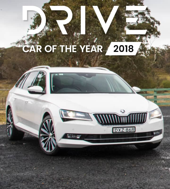 Drive Car of the Year 2018 mobile hero image