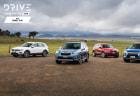 Drive 2018 Best Small Van group shot