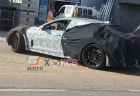 Mid-engined Kia Stinger mule spied testing: Is this the long-promised Hyundai N coupe flagship?