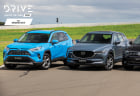 Drive Car of the Year Best Medium SUV 2021 finalists group photo