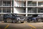 2021 Hyundai Palisade diesel v Kia Carnival Platinum comparison