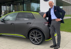 Volkswagen ID.X electric hot hatch concept shown off by CEO