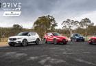 Drive 2018 Best Luxury SUV Under $80k group shot