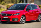 2021 Peugeot 308 red