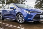 2020 Toyota Corolla SX hybrid sedan review