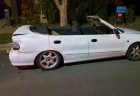 Unlicensed Adelaide driver caught in home-made Hyundai Excel convertible