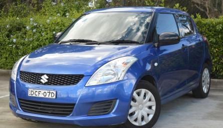 2011 Suzuki Swift GA Hatchback