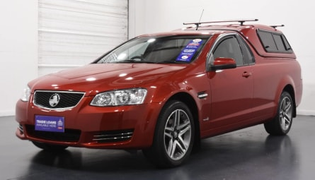2012 HOLDEN COMMODORE Omega Utility Extended Cab