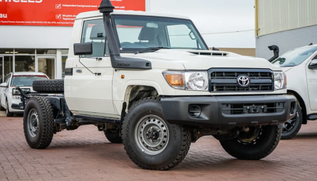 2019 Toyota Landcruiser Workmate Cab Chassis Single Cab