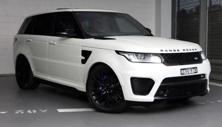 2016  Land Rover Range Rover Sport V8sc Svr Wagon