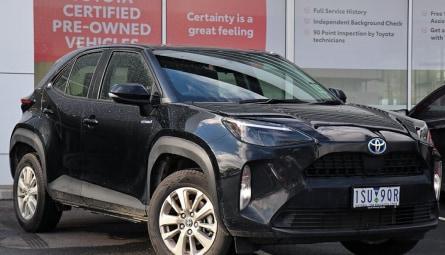 2020  Toyota Yaris Cross Gx Wagon