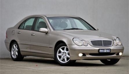 2001 Mercedes-Benz C-Class C240 Elegance Sedan