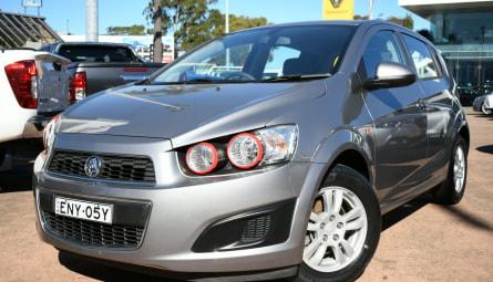 2012  Holden BarinaHatchback
