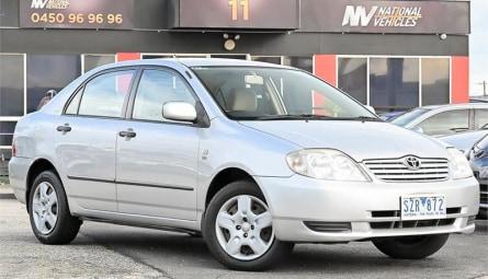 2004  Toyota Corolla Ascent Sedan