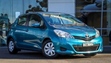 2012  Toyota Yaris Yr Hatchback