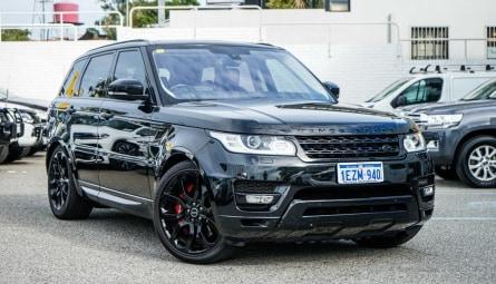 2016 Land Rover Range Rover Sport SDV6 HSE Wagon