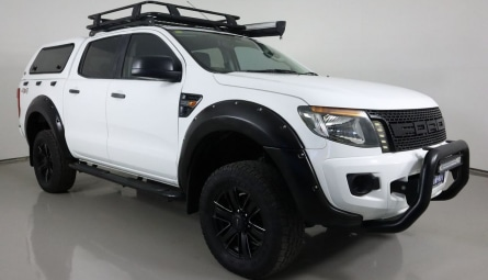 2013  Ford Ranger Xl Utility Double Cab