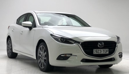 2017 Mazda 3 SP25 Astina Sedan