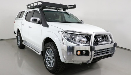 2017  Mitsubishi Triton Gls Utility Double Cab