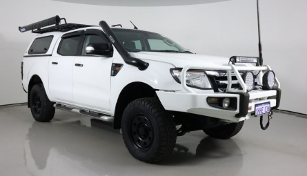 2012  Ford Ranger Xlt Utility Double Cab