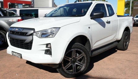 2020  Isuzu D-MAX Sx High Ride Utility Space Cab