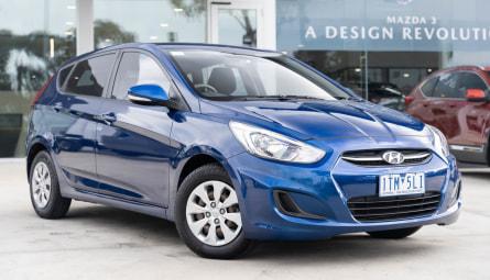 2016  Hyundai Accent Active Hatchback
