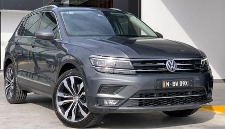 2017 Volkswagen Tiguan 140TDI Highline Wagon