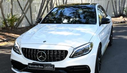2018  Mercedes-Benz C-class C63 Amg S Sedan