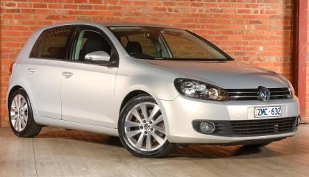 2009  Volkswagen Golf 118tsi Comfortline Hatchback