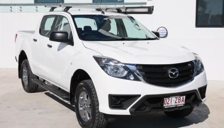 2018  Mazda BT-50 Xt Utility Dual Cab