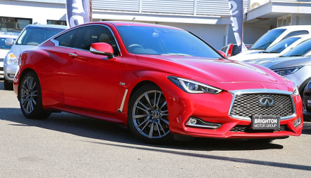 2017 INFINITI Q60 Red Sport Coupe