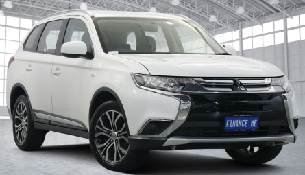 2017  Mitsubishi Outlander Es Wagon