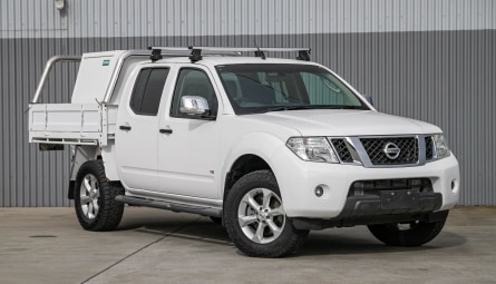 2013  Nissan Navara St-x 550 Utility Dual Cab