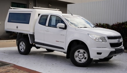 2014  Holden Colorado Lx Cab Chassis Space Cab