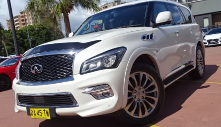 2015  INFINITI QX80 S Premium Wagon