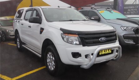 2012  Ford Ranger Xl Hi-rider Cab Chassis Double Cab